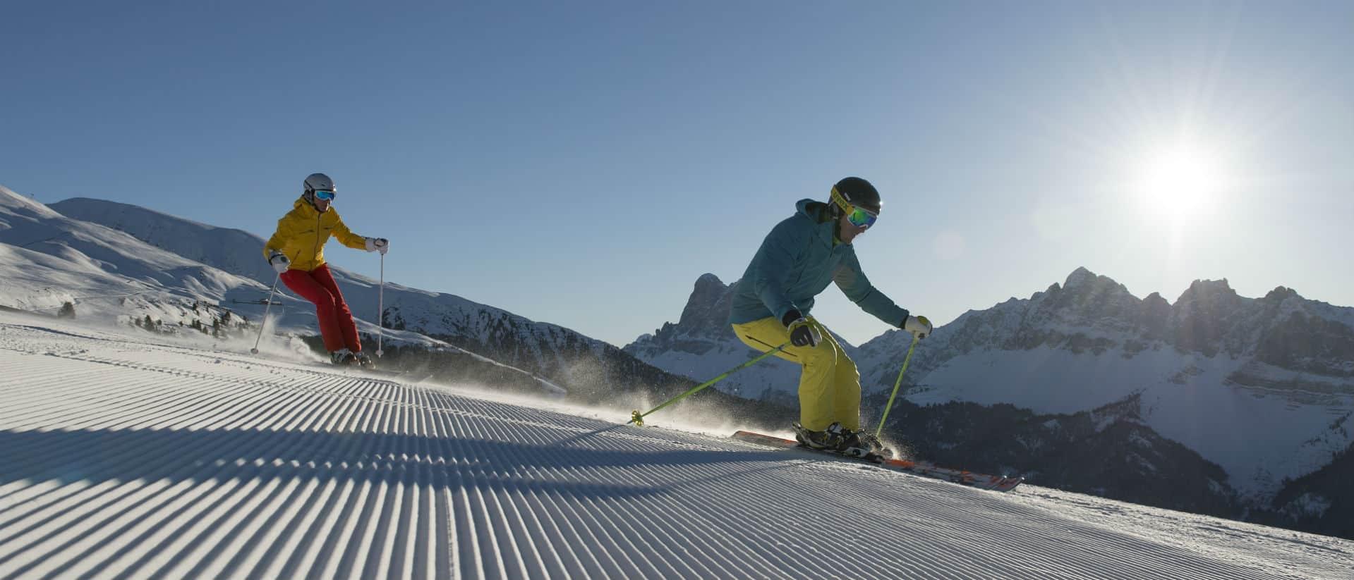 Skifahren auf der Plose