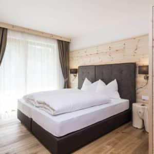 Doppelzimmer im Chalet Sommer