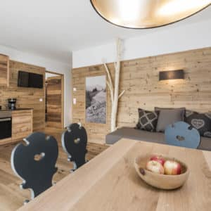 Wohnraum vom Chalet Sommer