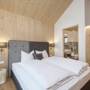 Doppelzimmer im Chalet Winter