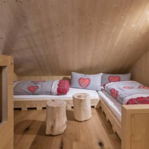 Kinderzimmer im Chalet Winter