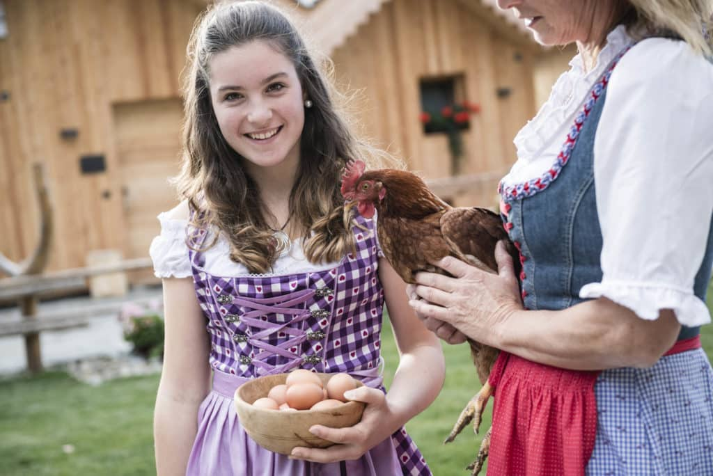 Eier von unseren Hühnern