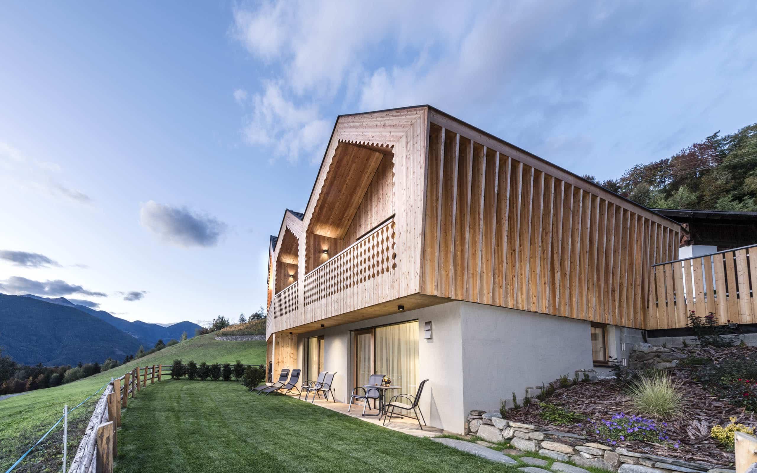 Chalet Niederthalerhof in Südtirol
