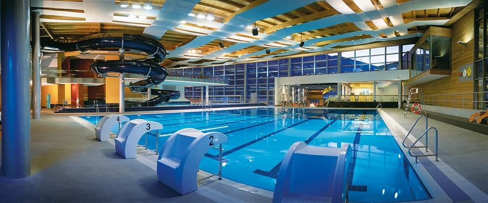 Schwimmbad von Brixen