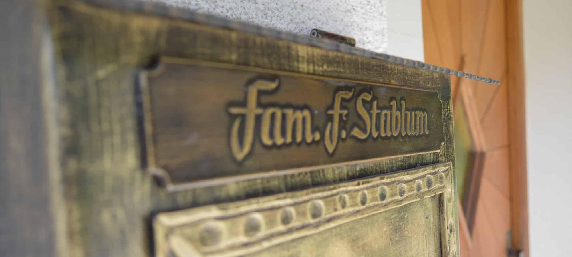 Niederthalerhof Briefkasten