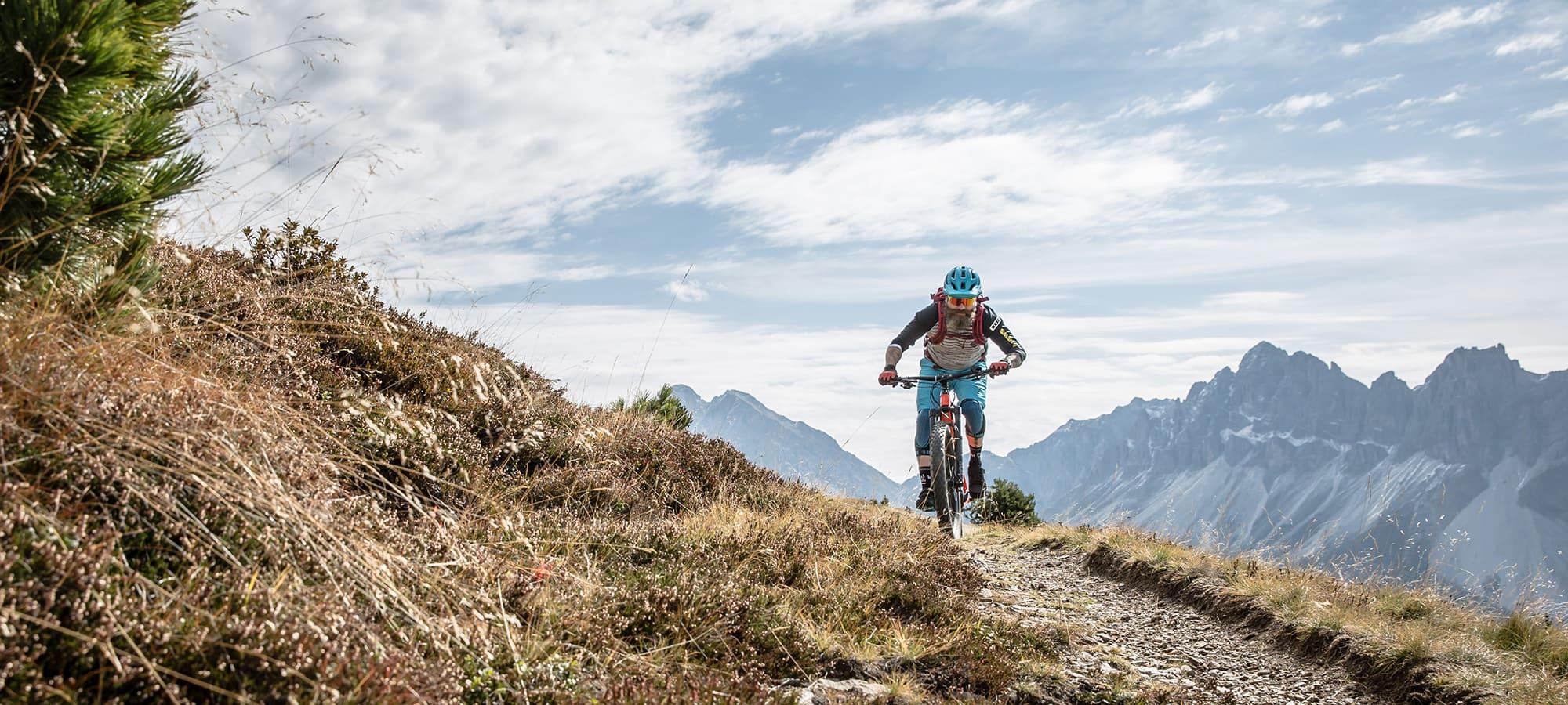 Mountainbiken auf der Plose