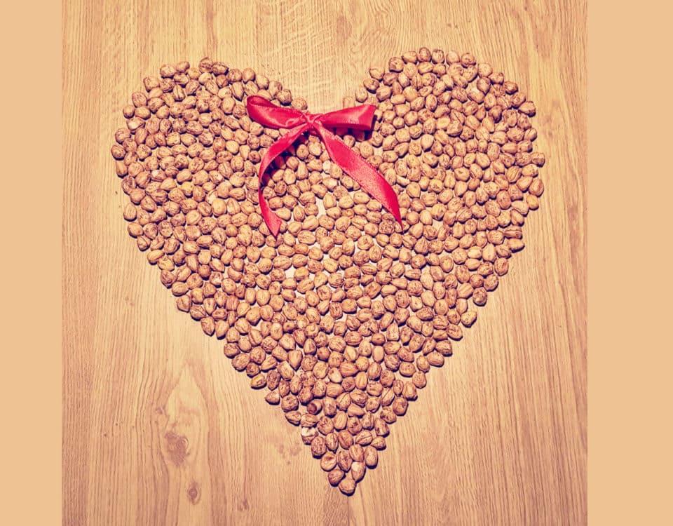 Haselnuss Herz - Haselnussrezept