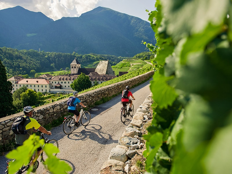 Radfahren im Eisacktal - Kloster Neustift