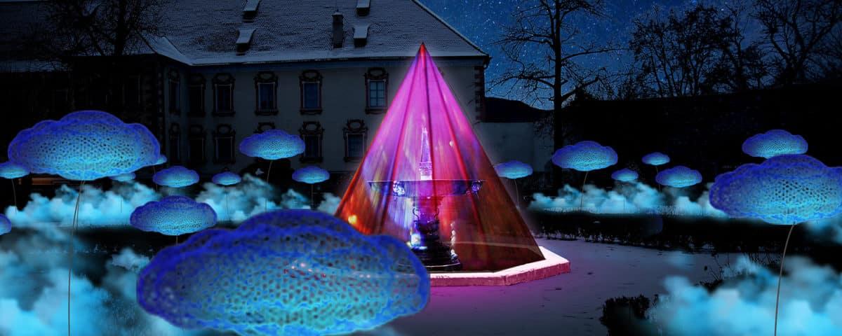 Hofburggarten beim Wasserfestival
