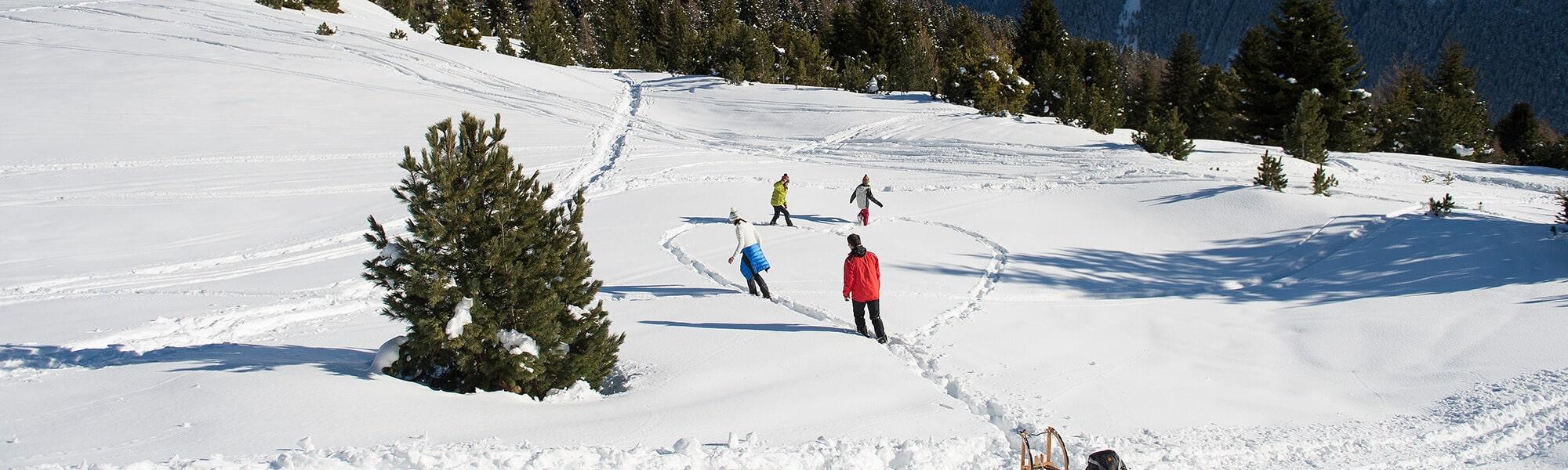 Schneelandschaft - wie romantisch